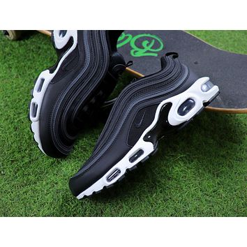Sale Nike Air Max Plus 97 TN Black/Anthracite White Sneakers Trainers AH8143-001