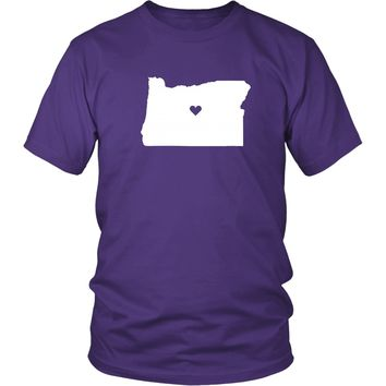 State T Shirt - Oregon Love