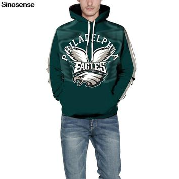 Philadelphia Eagles 3D Hoodie Hoodies Men Women Long Sleeve Hood 80b993777