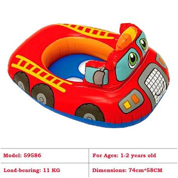 Swimming Pool beach 29 Styles! INTEX Toddler Baby Inflatable Swimming Ring Children Swim Arm Rings Kids  Seat Float Boat with SunshadeSwimming Pool beach KO_14_1