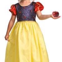 Little Adventures Deluxe Snow White Princess Costume with Hairbow