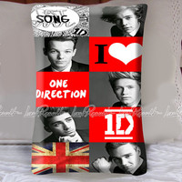 I Love One Direction Decorative Pillow Covers