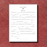 Alternative Wedding Guest Book Wedd.. on Luulla