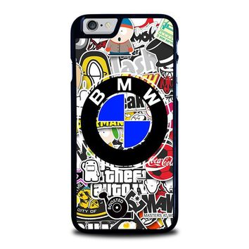 BMW STICKER BOMB iPhone 6 / 6S Case Cover