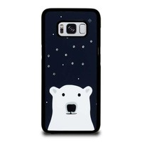 KATE SPADE SPARKLE POLLAR BEAR Samsung Galaxy S8 Case Cover