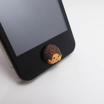 50%OFF Resin MONCHHICHI Lovely Doll Toy Home Button Sticker for iPhone 3,4/4s,5,ipad 2,3,4,iPod Touch 2,3,4,5