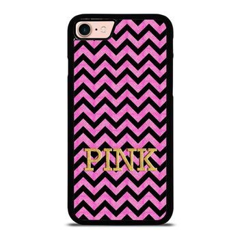 VICTORIA'S SECRET PINK CHEVRON iPhone 8 Case Cover