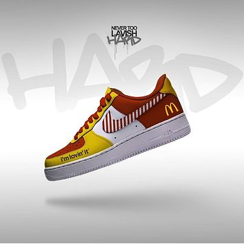 Ronald MacDonald Im loving it - air force one custom