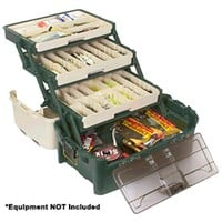 Plano Hybrid Hip 3-Tray Tackle Box - Forest Green