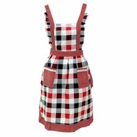 DCCKL72 Women Lady Restaurant Home Kitchen Bib Cooking Aprons With Pocket  quality first