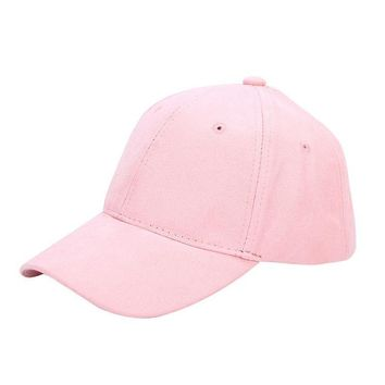 Summer Spring 2017 New Fashion Adult baseball Cap Cotton Caps Women Solid Cap Women Pink Hats Snapback Women Caps