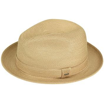 "Bailey ""Tate"" Braid Straw Fedora"