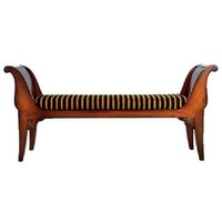 St Petersberg Caned Bench | Georgian/Eclectic | Chairs and Stools