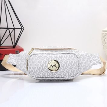 MK Women Shopping Leather Purse Waist Bag Single-Shoulder Bag Crossbody