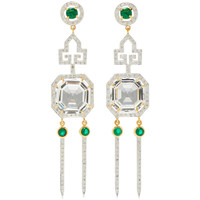 One-Of-A-Kind Deco Ice Picks Earrings | Moda Operandi