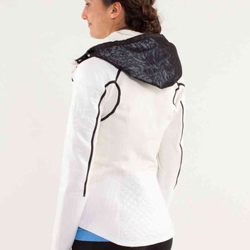 run: bundle up jacket *reflect | women's jackets and hoodies | lululemon athletica
