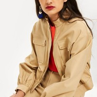 Patch Pocket Crop Jacket | Topshop