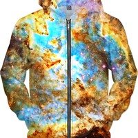 Heart and Soul Nebula | Universe Galaxy Nebula Star Clothes | Rave & Festival Shirt