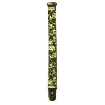 Planet Waves P20S1500  Digital Camo Guitar Strap, Green