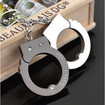 Gift Stylish Jewelry Shiny New Arrival Accessory Korean Creative Pendant Stainless Steel Couple Love Gifts Necklace [6542509123]