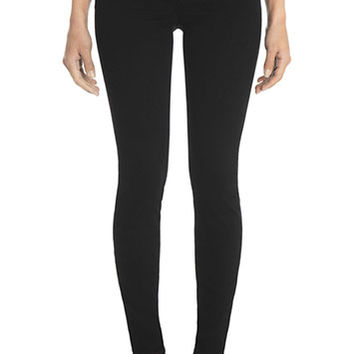 J Brand Jeans - Black 485 Luxe Sateen Super Skinny by J Brand,
