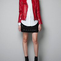 COMBINATION QUILTED JACKET - Jackets - Woman - New collection - ZARA United States