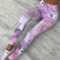 Women'S Printed Fashion Sweat Pants