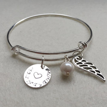 Charm Bracelet For Mom Personalized Mother S Day Gift Friendship