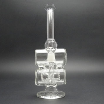 "9"" Double Barrel with Inline Perc"