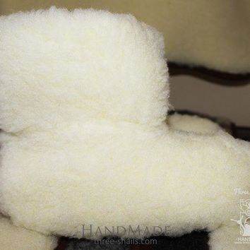 MDIG1O Wool ugg slippers 'Clouds'