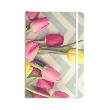 "Catherine McDonald ""Tulips and Chevrons"" Everything Notebook"