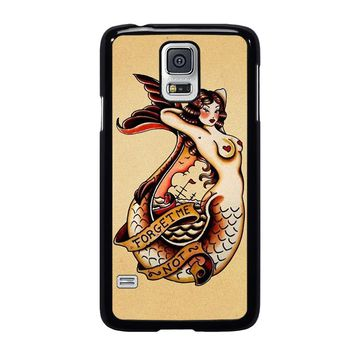 SAILOR JERRY TATTOO MERMAID Samsung Galaxy S5 Case