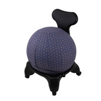 Yoga Ball Cover Size 65cm Design Colbalt Geometric - Global Groove (Y)