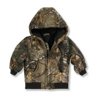 Boy's Infant/Toddler Realtree Xtra® Camo Active Jac - Quilted Flannel Lined