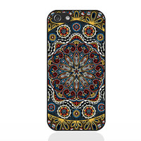 mandala-flowers,IPhone 5c case,IPhone 5s case,IPhone 5 case,IPhone 4 Case,IPhone 4s case,soft Silicon iPhone case,Personalized case