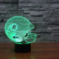 Washington Redskins 3D Helmet Light