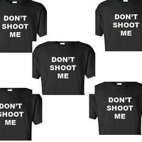 dont shoot me protest  t-shirt  black  lives matter nypd  civil rights tee shirt police