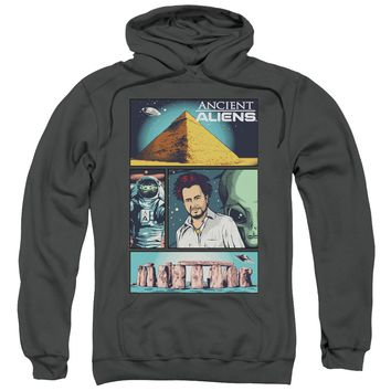 Ancient Aliens - Aliens Comic Page Adult Pull Over Hoodie