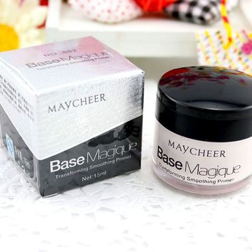 Base Makeup Transforming Smoothing Face Primer Cover Pore Wrinkle Lasting Concealer Foundation Base Magique
