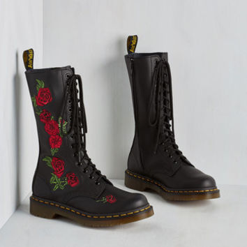 Statement Rose from the Ranks Boot by Dr. Martens from ModCloth