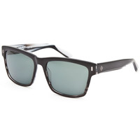 Spy Crosstown Collection Haight Sunglasses Black/White One Size For Men 25852112501
