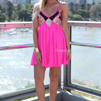 LINCOLN 2.0 DRESS , DRESSES, TOPS, BOTTOMS, JACKETS & JUMPERS, ACCESSORIES, SALE, PRE ORDER, NEW ARRIVALS, PLAYSUIT, COLOUR, GIFT VOUCHER,,Pink,Sequin,Gold,SLEEVELESS Australia, Queensland, Brisbane