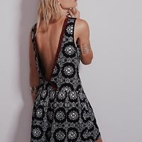 Free People Womens Nights Dress - Black