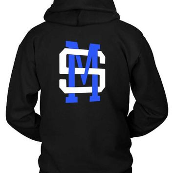 DCCKL83 Shawn Mendes Sm Classic Logo Hoodie Two Sided
