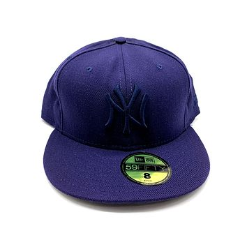 New Era 59FIFTY New York Yankees All Navy Blue Fitted