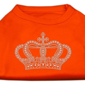 Rhinestone Crown Shirts Orange XXXL (20)