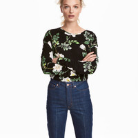 H&M Long-sleeved Jersey Top $9.99