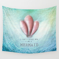 Mermaid Wall Tapestry by Candy.