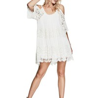 Thi Lace Dress at Guess