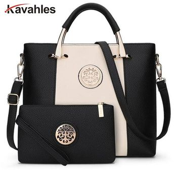 2017 Luxury Women Bags Famous Brands Shoulder Bag Casual Tote Designer Handbags and Purses bags female Business Set  PP-832